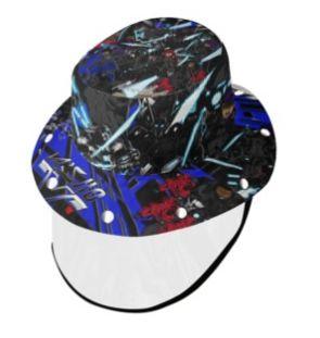 Karjakz Vs Assassins bucket hat with face shield