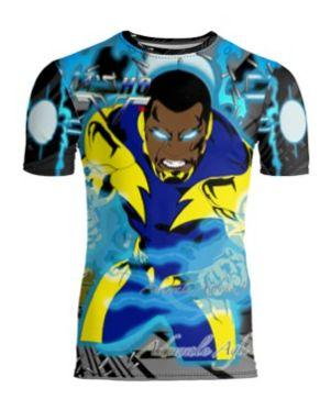 Black Lightning limited edition tshirt