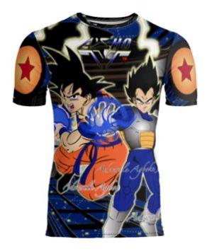 Goku Vs Vegeta limited edition tshirt