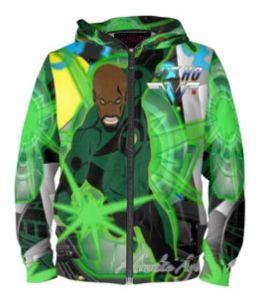 Green Lantern limited edition hoodie