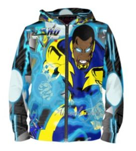 Black Lightning limited edition hoodie