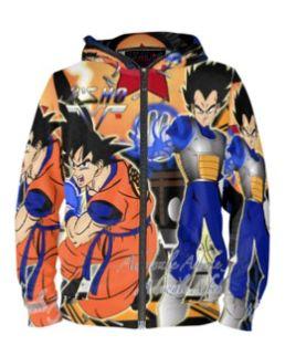Goku vs Vegeta limited edition hoodie