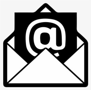E-Mail logo with at symbol in envelope.