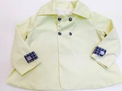 Size 3 Edward Jacket Yellow Pique