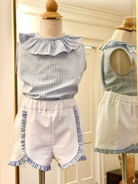 Size 4 2pc SL Frances Top & Jane Shorts