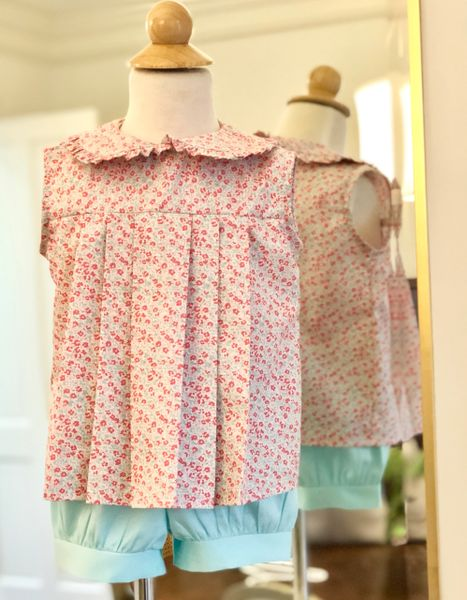 Size 2 2pc Carlin Top Shorts Set