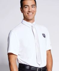 MEN'S SHOW POLO-WHITE