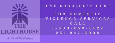 Domestic violence crisis hotline the lighthouse baldwin county