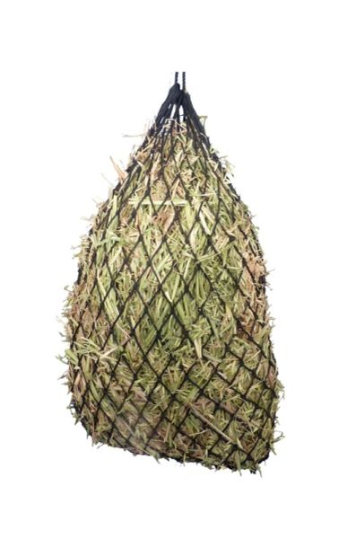 SLOW FEEDER HAY NET Black