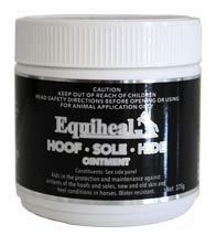 EQUIHEAL HOOF - SOLE- HIDE OINTMENT 375G and 1KG