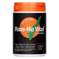 ROSE-HIP VITAL WITH GOPG 250 CAPSULES ( Human)