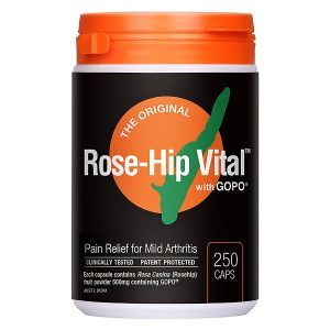 ROSE-HIP VITAL WITH GOPG 250 CAPSULES ( Human)