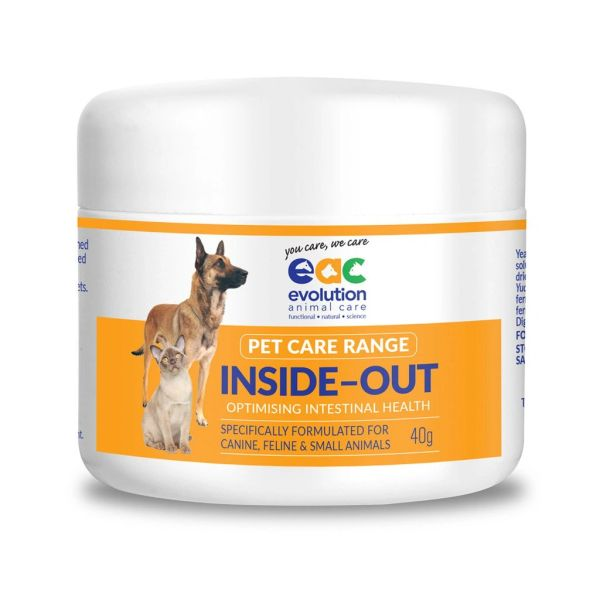 INSIDE OUT PET CARE - Probiotic & Nutraceutical For Dogs, Cats & Small Animals