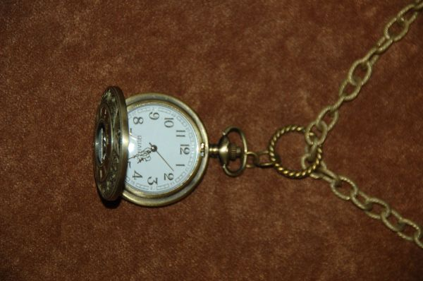 Pocket Watch on a Chain