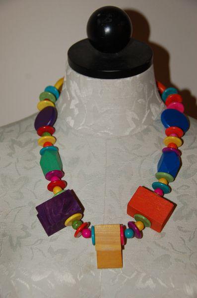 Wood & Stone Beads #1