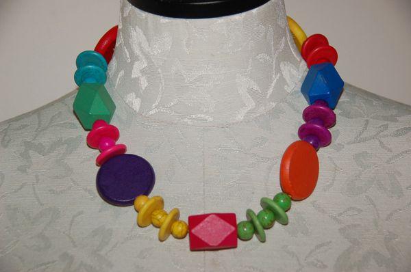 Wood & Stone Beads, #2