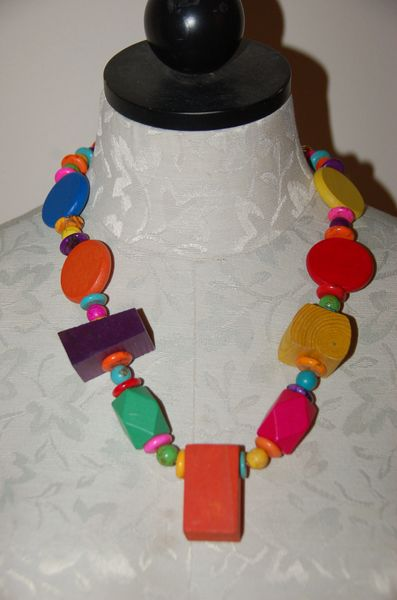 Wood & Stone Beads, #3