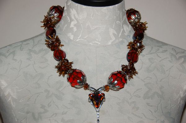 Amber-Tone Crystals
