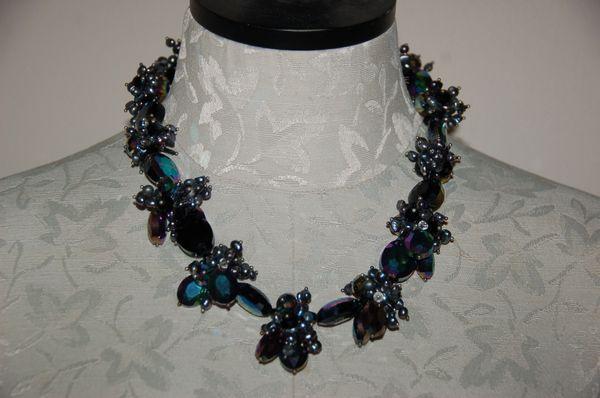 Black Crystals & Black Pearls