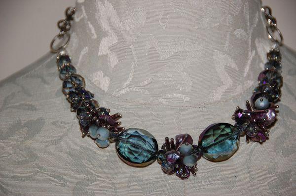 Purple Crystals & Purple Pearls