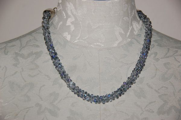 Grey Rope Necklace