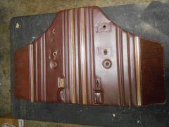 Jeep Wagoneer rear door interior panels Burgandy