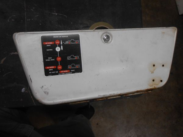 C10 C20 C30 glove box door 1967-1973