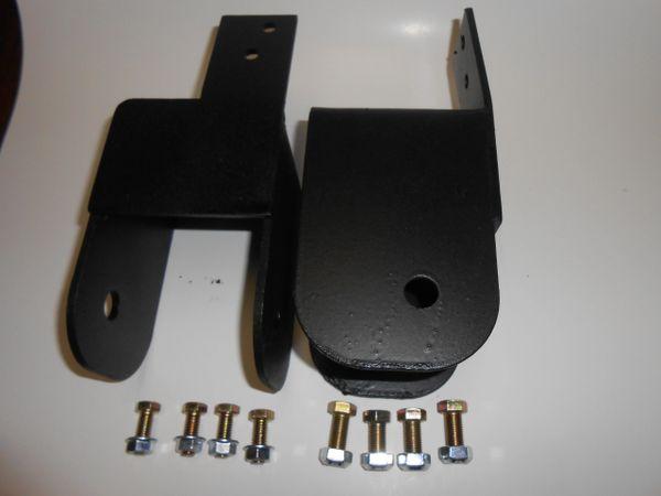 """J10 J20 Wagoneer Shackle Reversal FSSR [front spring shackle reversal] rear lift kit 2.5"""""""