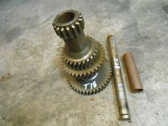 Jeep T18 transmission counter gear with sleeve and shaft pulled from J10 J20