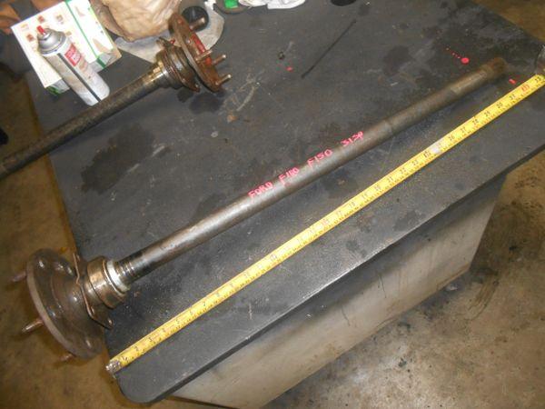 FordF150 9 inch rear axle shaft and 31 spline