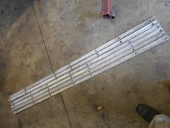 Ford wood strips for F150 step side bed