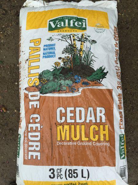 Valfei Cedar Natural Mulch Long Island Native Plant Nursery