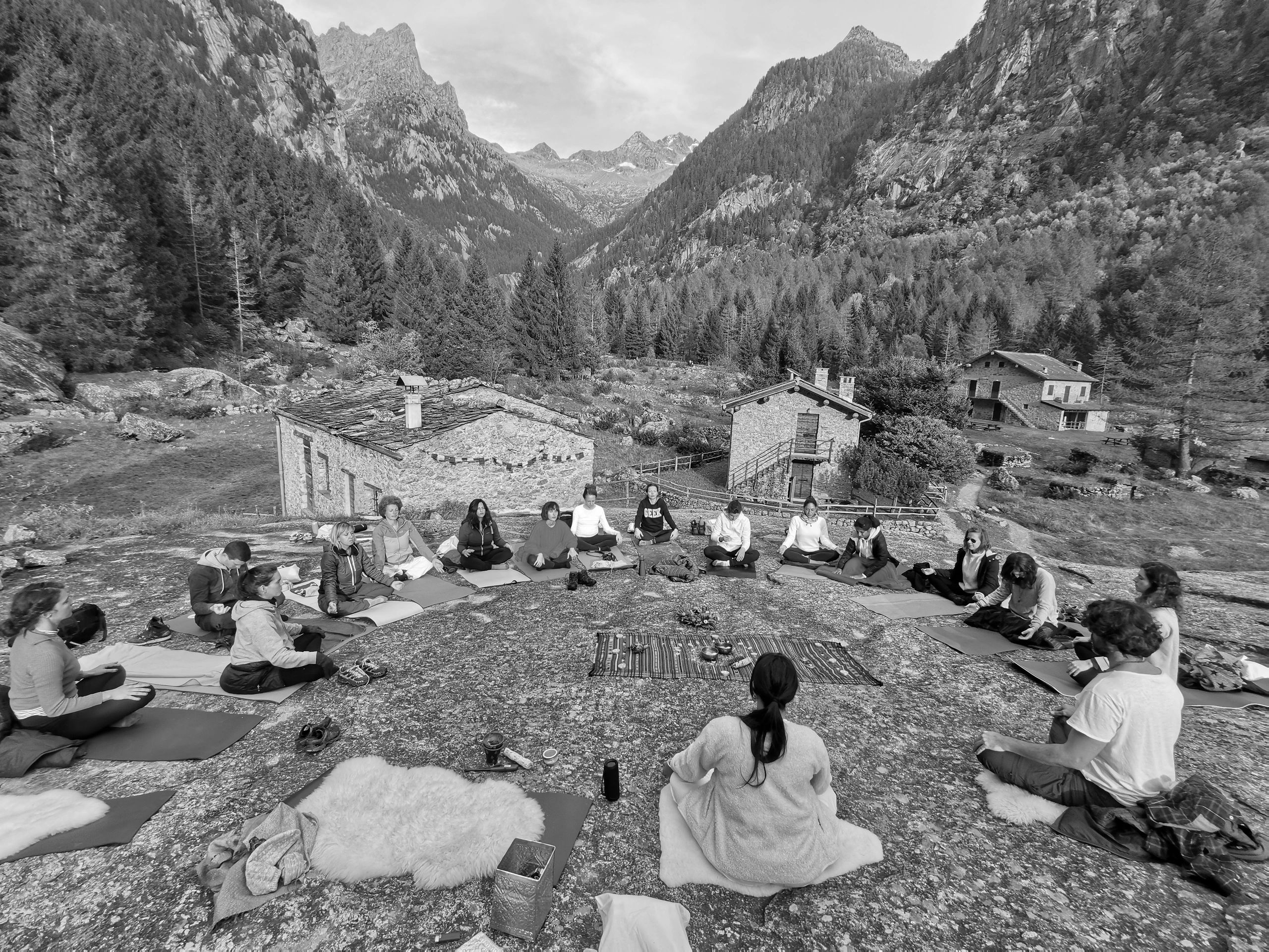 Kundalini Yoga in Val di Mello