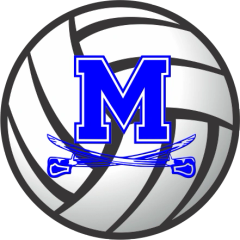 Middletown Volleyball Decal