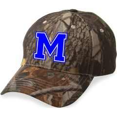 MHS Embroidered Camo Hat