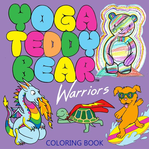 Yoga Teddy Bear Warriors