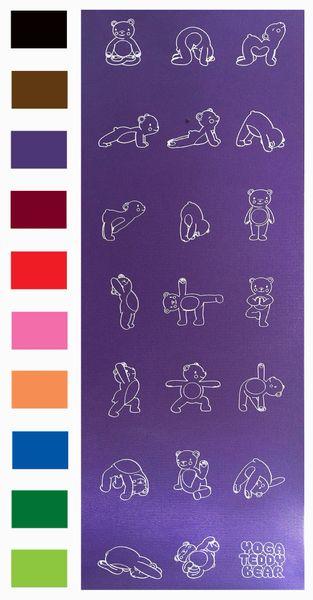 """Yoga Teddy Bear """"Show Me"""" Mat"""