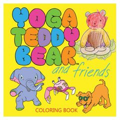 6+ Yoga Teddy Bear & Friends Coloring Book