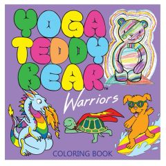 6+ Yoga Teddy Bear Warriors Coloring Book
