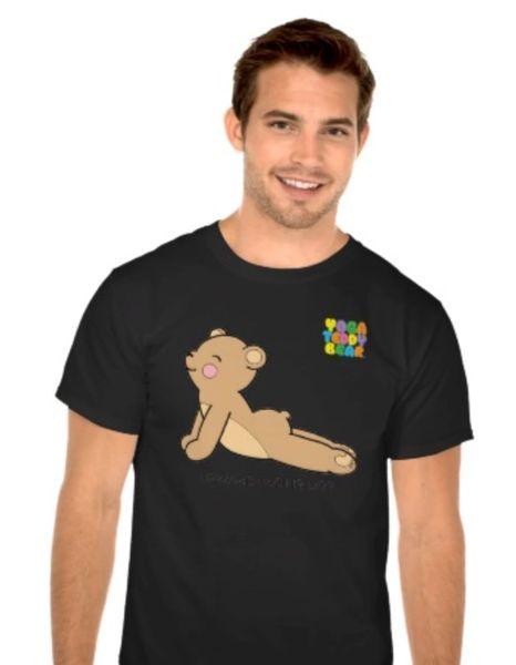 Yoga Daddy Basic Black T-Shirt