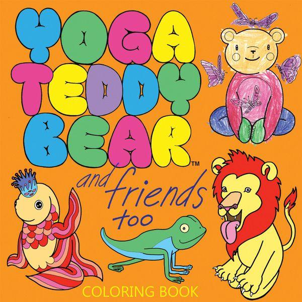Yoga Teddy Bear and Friends Too