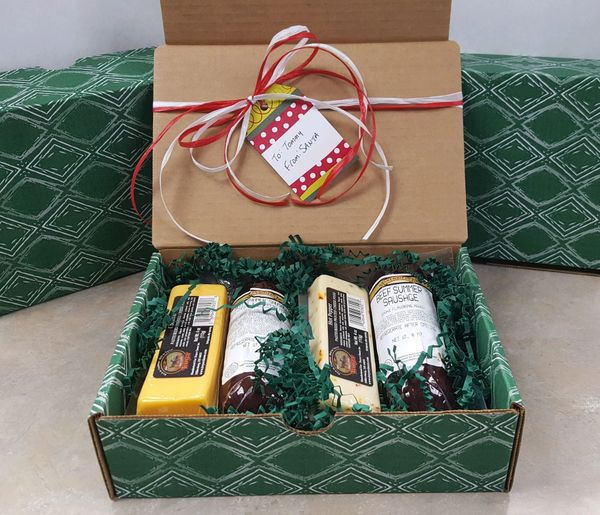 Krehbiels Summer Sausage & Cheese Gift Box