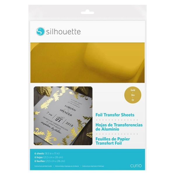 Foil Transfer Sheets - Gold