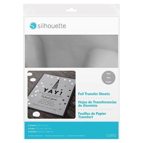 Foil Transfer Sheets - Silver