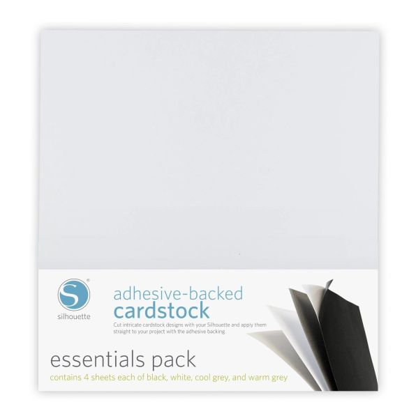 Adhesive-backed Cardstock Essentials Pack
