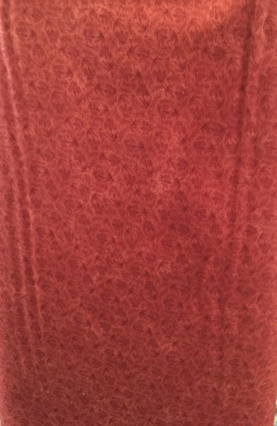MODA Kansas Troubles Favorites Rust Red with Leaf Pattern 9021 17