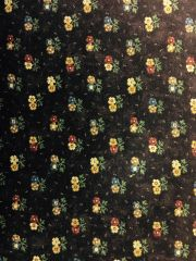 MODA Kansas Troubles Butterfly Garden plum fabric with flowers 9282