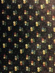 MODA Kansas Troubles Butterfly Garden plum fabric with flowers 9282