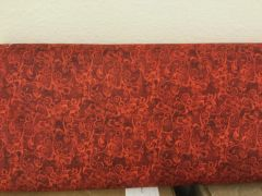 Quilting Treasures. In Bloom red swirl fabric