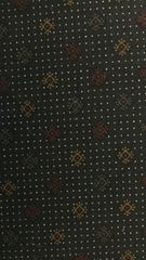MODA Kansas Troubles Holiday Medley blue fabric with dots and flowers 9364-14